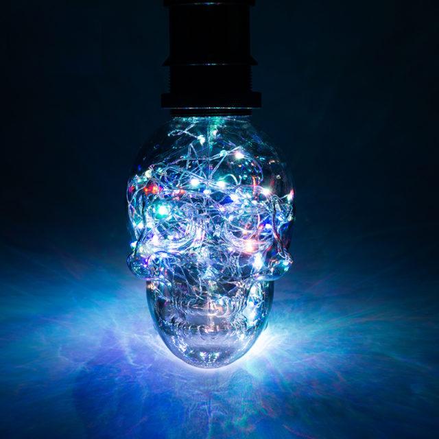SKULL LED LAMP BULBS