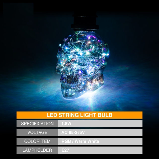 SKULL LED LAMP BULBS
