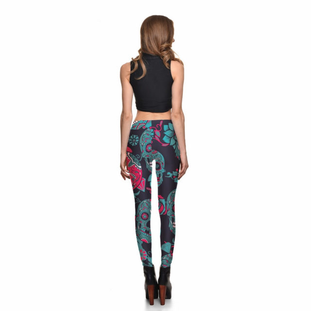 SUGAR SKULL 3D LEGGINGS