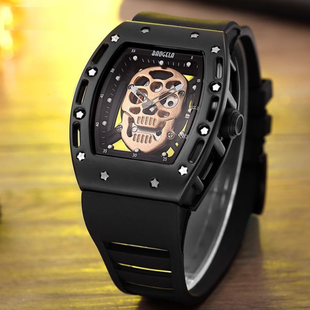 3D SKELETON SKULL WATCHES (5 VARIAN)