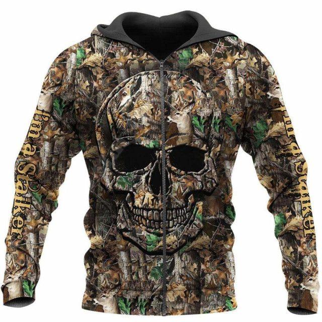 Newest Ghost Gothic Skull Funny Harajuku Pullover NewFashion Streetwear 3DPrint Zip/Hoodies/Sweatshirts/Jacket S-6